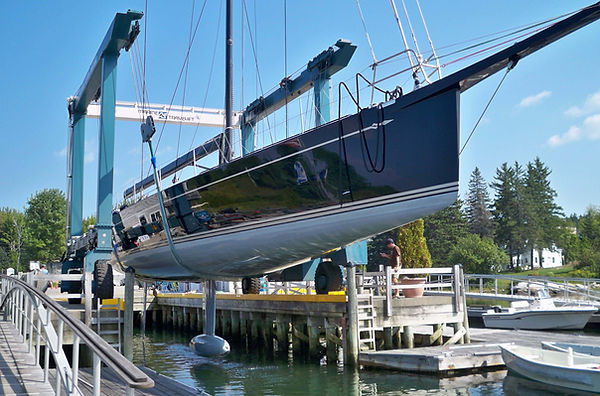 Southport, Maine Boatyard