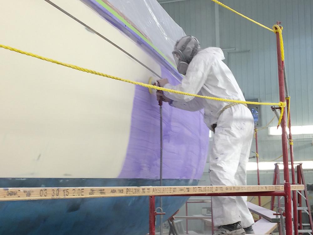 Eco-Conscious Paint Facility