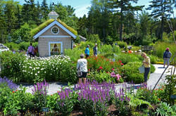 Families in the Children's Garden