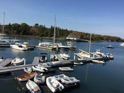 Maine Coast Dingy Dock