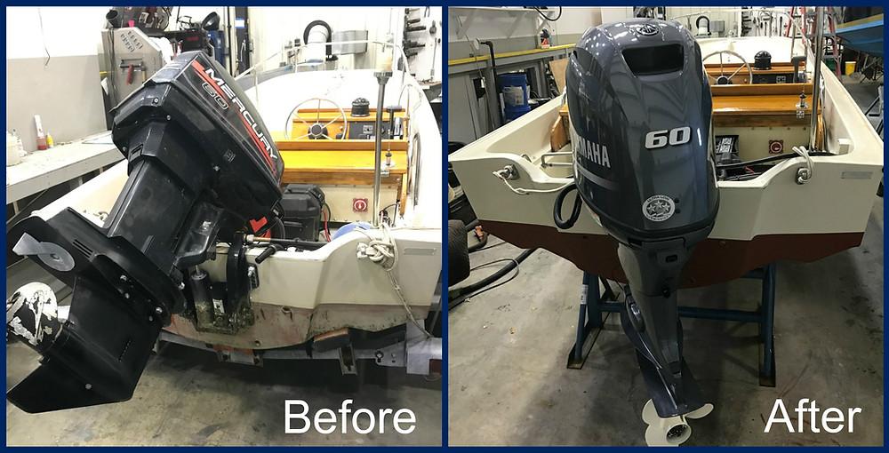 Boston Whaler Outboard Motor Repower