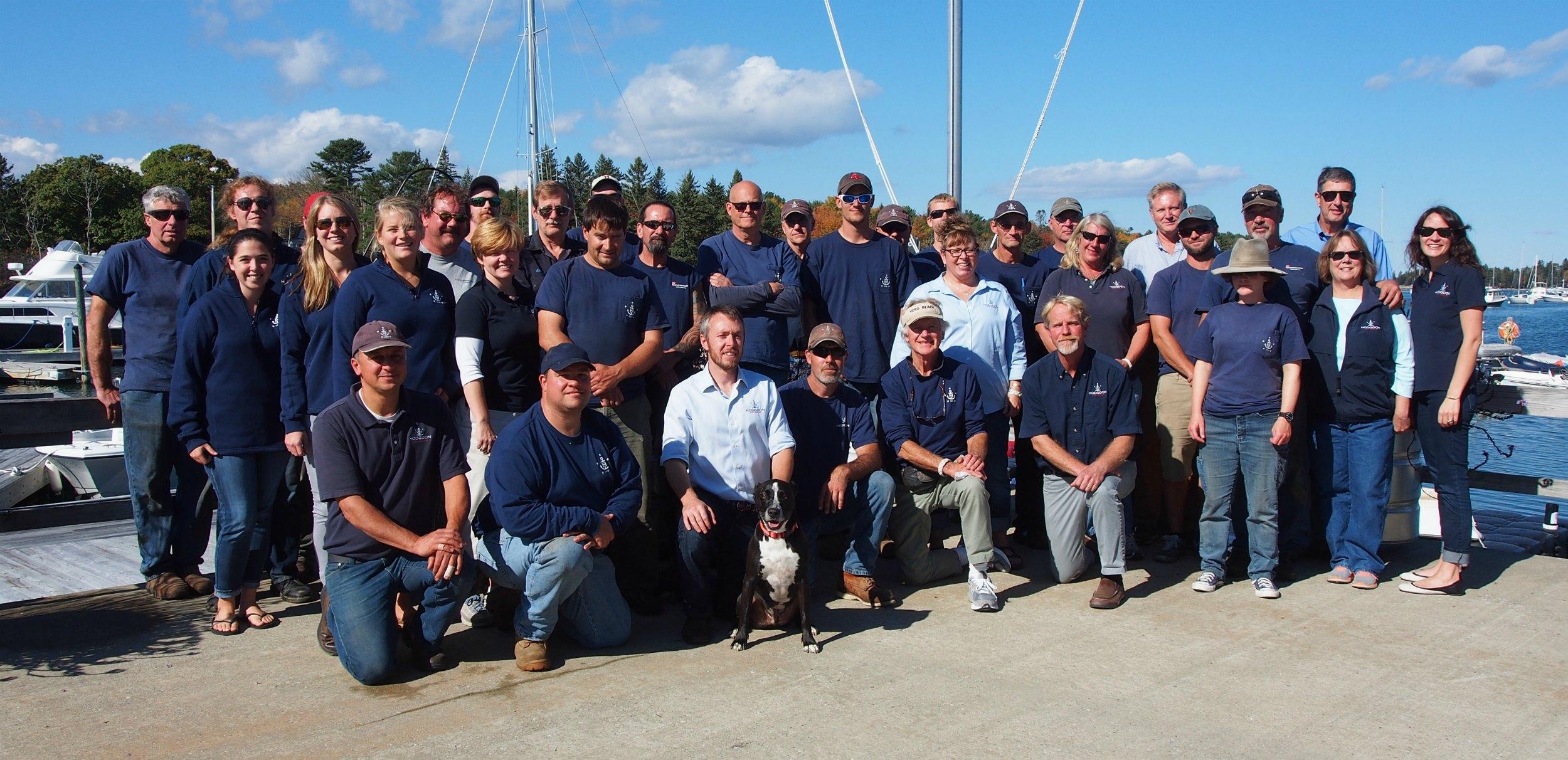 Hodgdon Yacht Services Team
