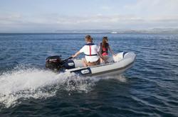 Inflatable with Suzuki Motor