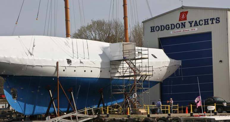 Large Sailboat Refit