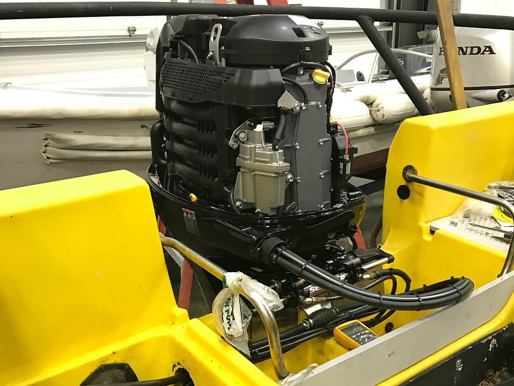 Suzuki Outboard Motor Repower