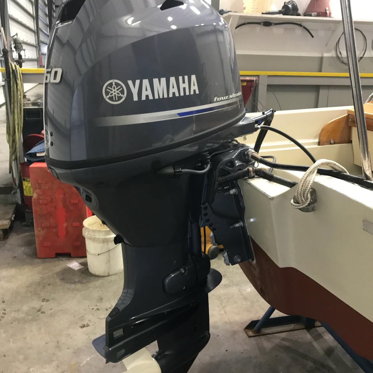 Yamaha F60 Engine Repower