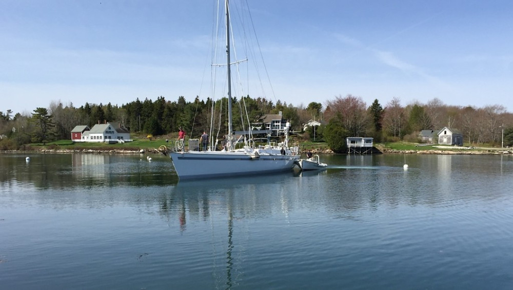 Deerfoot Sailboat Refit