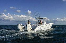 Twin Vee with Suzuki Outboards