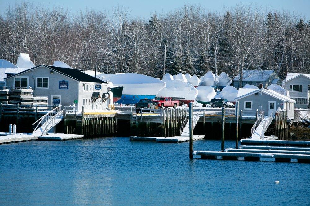 Outdoor Boat Storage Maine