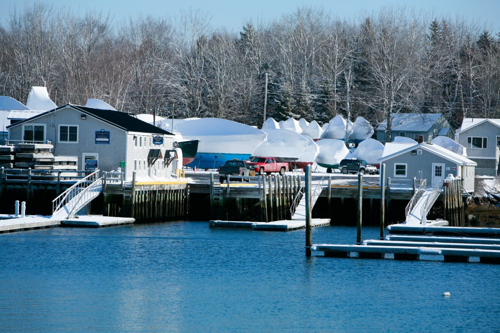 Winter Storage Hodgdon Yacht Services