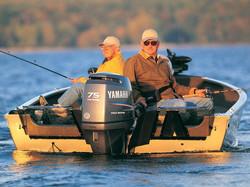Four Stroke Yamaha on Fishing Boat