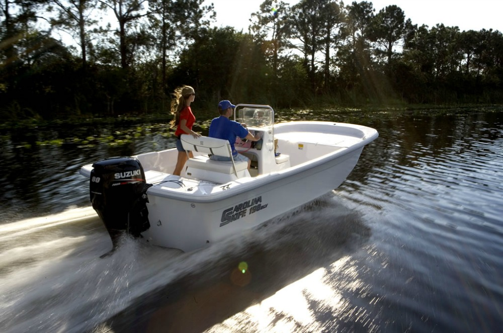 Suzuki Motor on Carolina Skiff