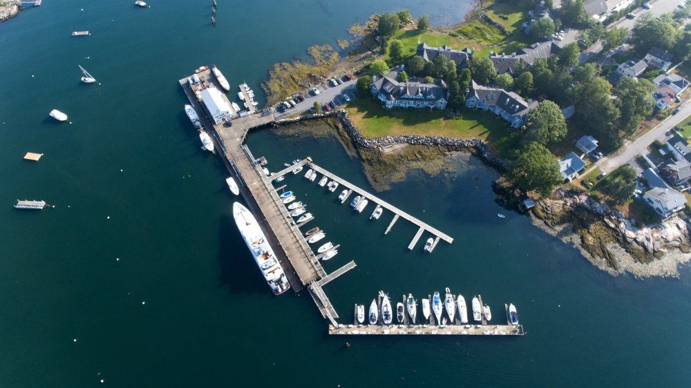 Superyacht Dock Maine