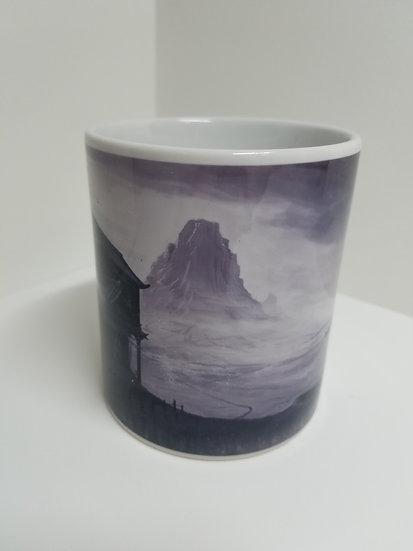 'View over the Mountain' Mug