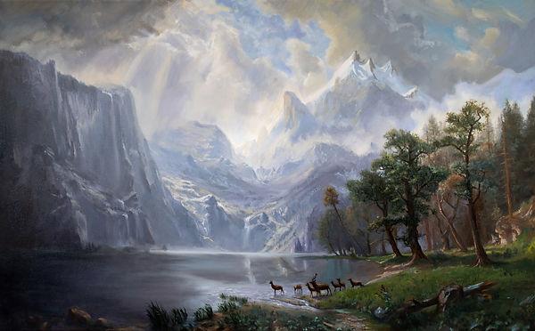 Bierstadt Among