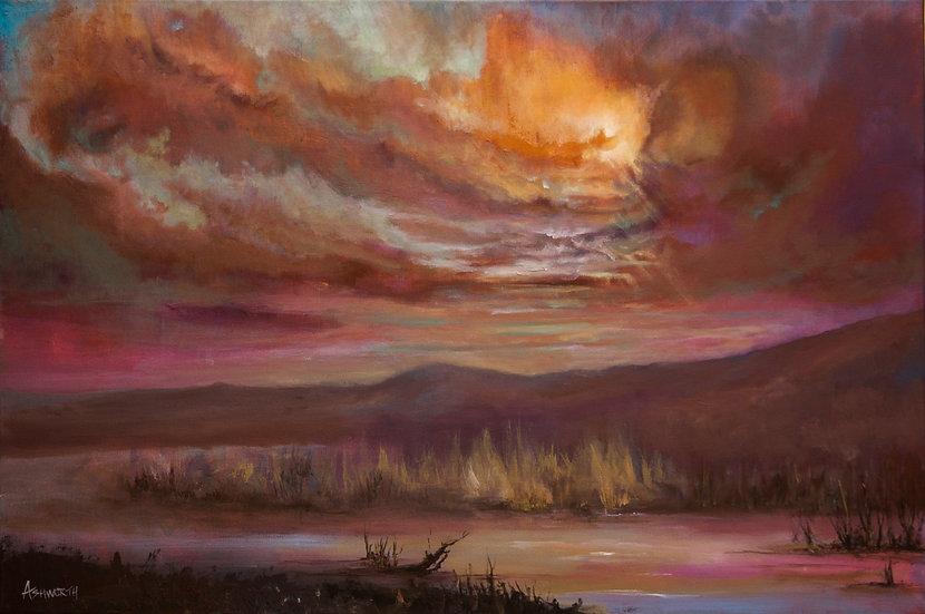 Oxide Sky Giclée Print