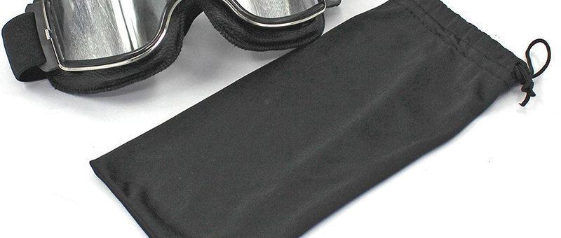 Motorcycle Retro Goggles Glasses For Harley Helmet Aviator