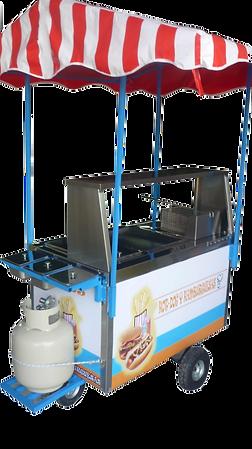 Carro Para Hot Dogs Y Hamburguesas Mod. HD-120