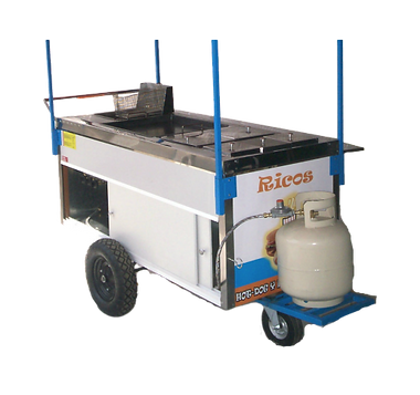 Carro Para Hot Dogs yHamburguesas Mod. HD-160