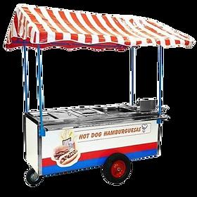 Carrito para Hot Dogs y Hamburguesas Mod.HD-190