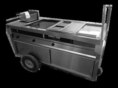 carrito para hotdogs en Ainox