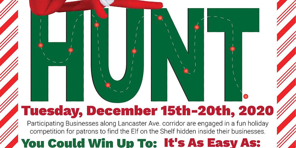 """The Lancaster Ave """"Elf on the Shelf Scavenger Hunt"""""""
