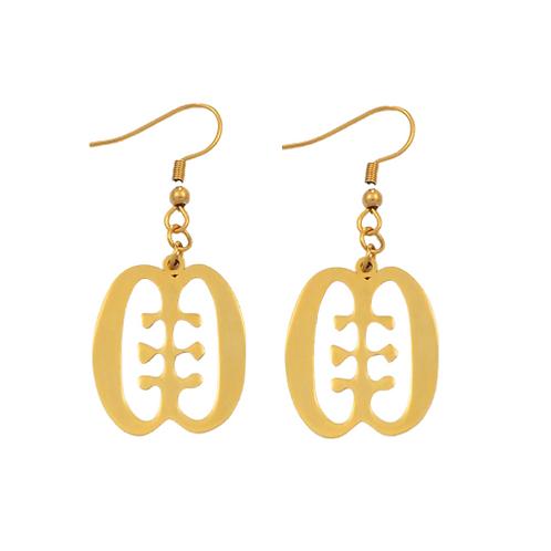 Adinkra Earrings
