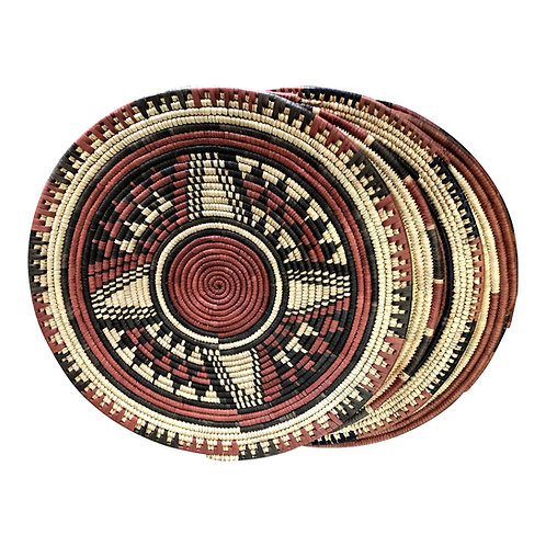 African Sisal Place Mat | Wall Hanging