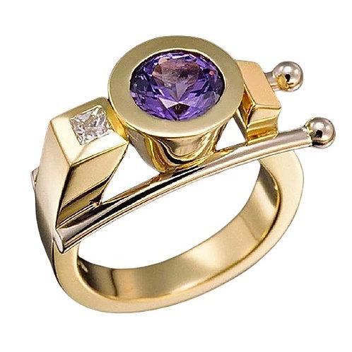 Crystal Geometric Ring