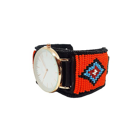 Kenyan Beaded Watch