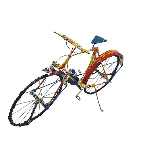 Recycled Bicycle Sculpture