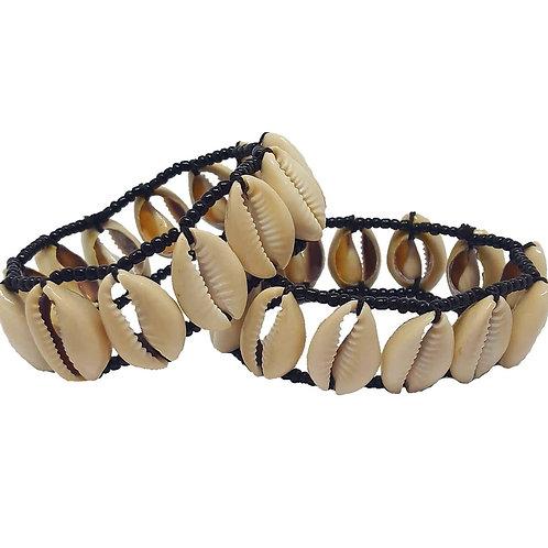 Elastic Cowrie Shell Bracelet