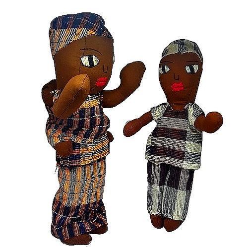 Ghanaian Fabric Dolls