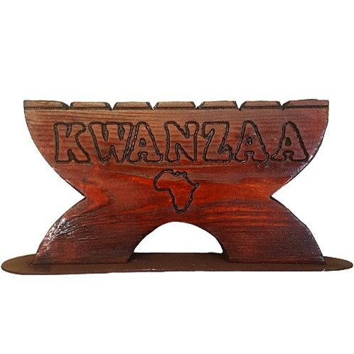 Kinara   Kwanzaa Candle Holder