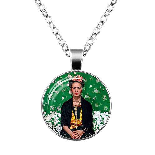Frida Kahlo Pendant Necklace