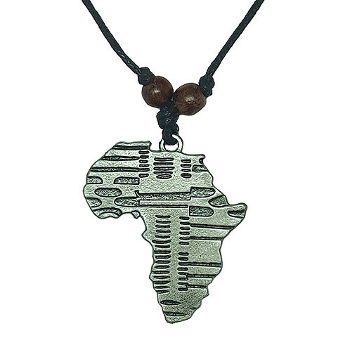 Africa Pendant Necklace