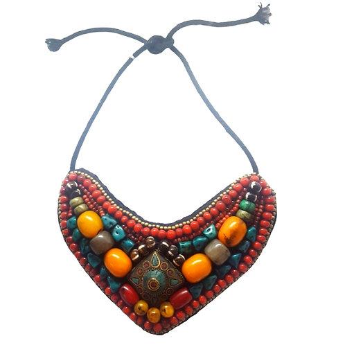 Nepalese Bib Necklace