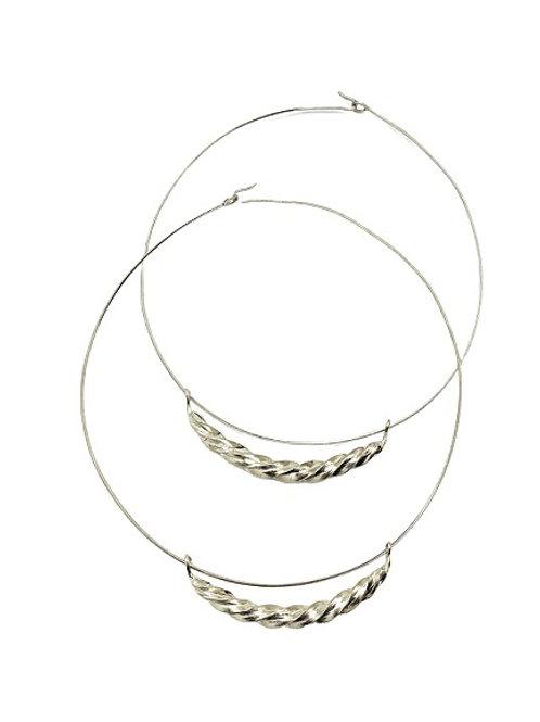 Fulani Necklace | White Brass