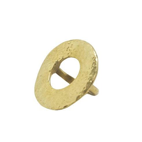 Brass Circle Ring