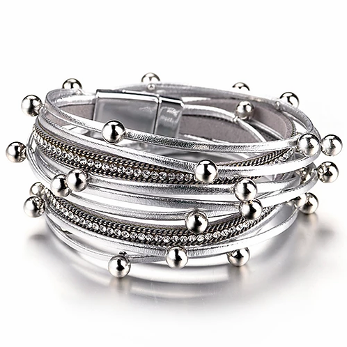 Wrap Bracelet | Silver
