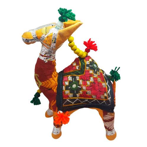 Vintage Stuffed Rajasthani Camel