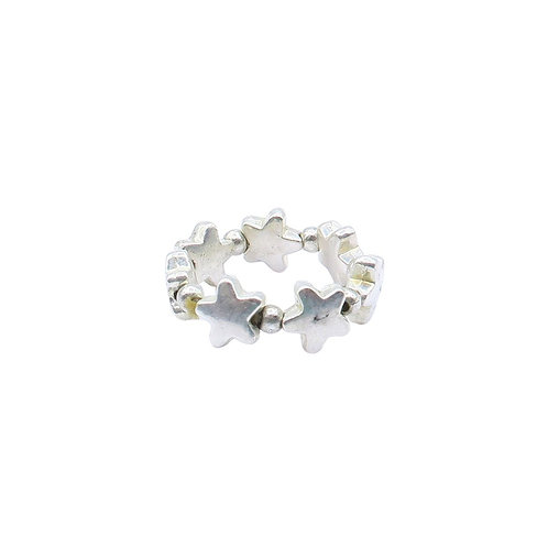 Elastic Star Ring