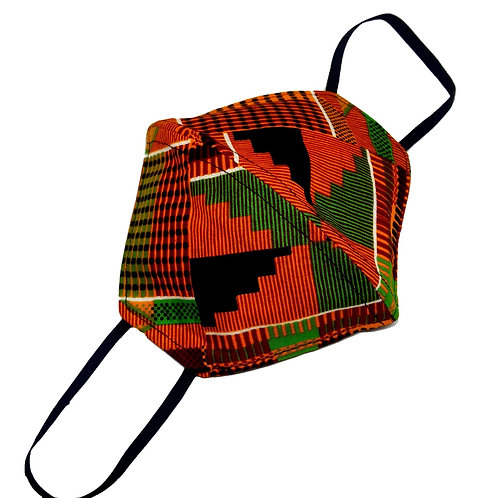 African Print Face Mask | Kente