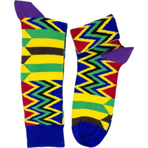 African Print Socks
