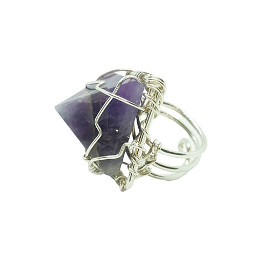 SOULCRAFTED Amethyst | Silver Ring