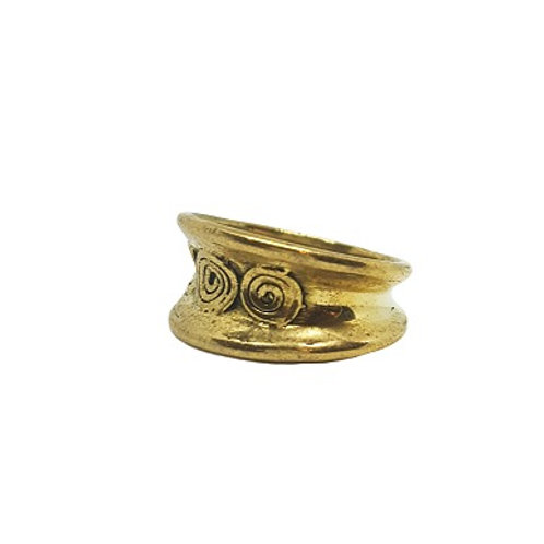 Adinkrahene Brass Ring