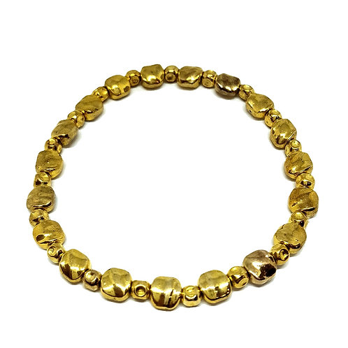 Golden Nugget Elastic Bracelet