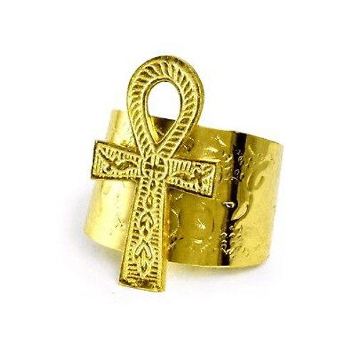 Ankh Cuff [Gold]