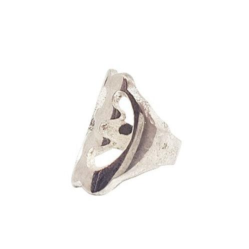 Brass Gye Nyame Ring