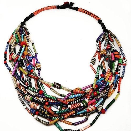 Upcycled Rubber Necklace